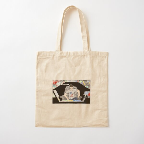 THIS FEELS...FAILURE-Y  (DISTRESSED) Cotton Tote Bag