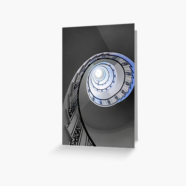 Architecture: Staircase Greeting Card