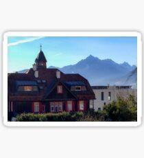 Austrian Alps Sticker