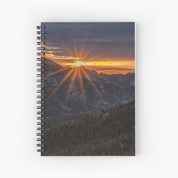 Sunrise in RMNP Spiral Notebook
