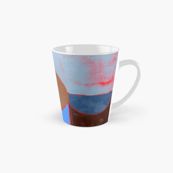 Blue Cups by Marie Boyle Tall Mug