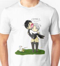 Heronstairs and ducks T-Shirt