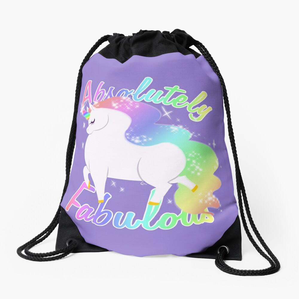 Absolutely Fabulous Drawstring Bag