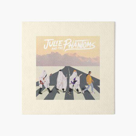 Julie y los fantasmas en Abbey Road Lámina rígida