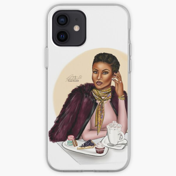 November Beauty iPhone Soft Case