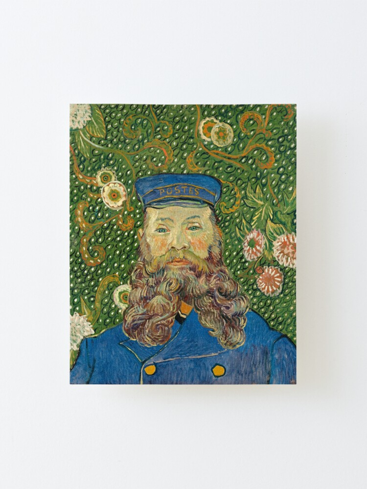 Alternate view of Van Gogh Postman Mounted Print