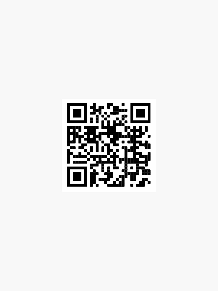 TommyInnit Jump in the cadillac QR Code  by cosmobabe
