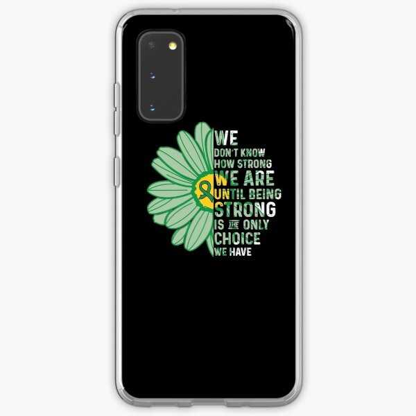 We Are Strong- Depression Awareness Gifts for Women Depression Support Ribbon Samsung Galaxy Soft Case