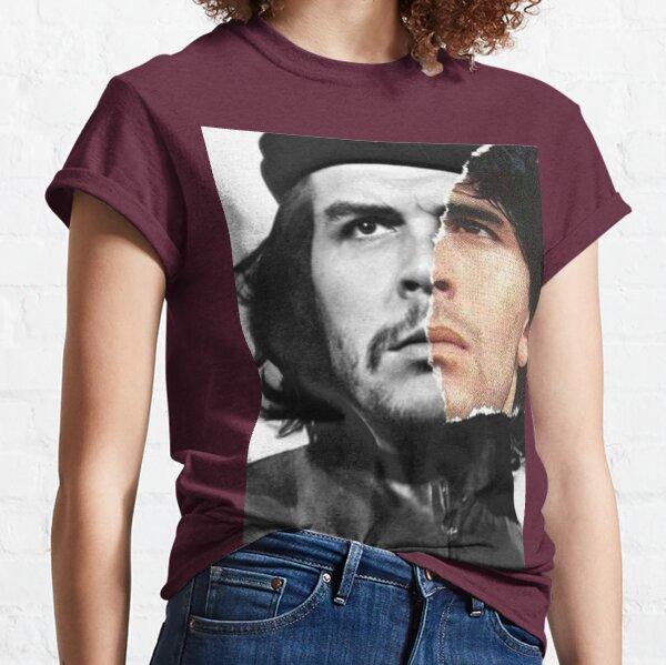 quédate en paz maradona Camiseta clásica