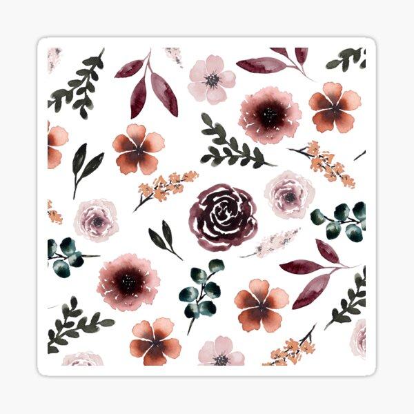 Handpicked by Jess Floral Sticker