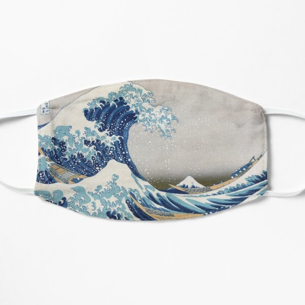 Under the Wave off Kanagawa - The Great Wave - Katsushika Hokusai Mask