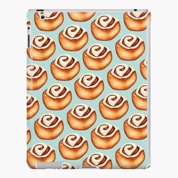 Zimtschneckenmuster - Blau iPad – Leichte Hülle