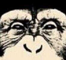 Monkey Music Sticker