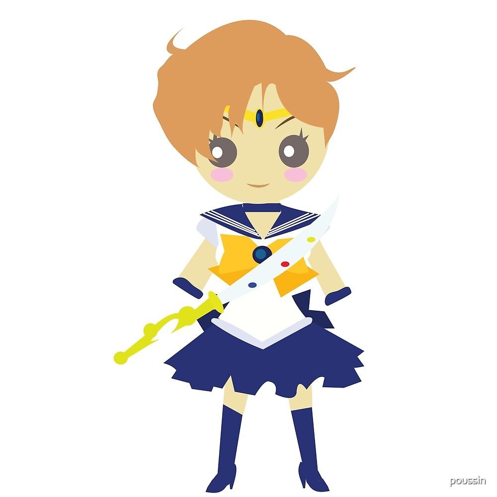 Chibi - Sailor Uranus by poussin
