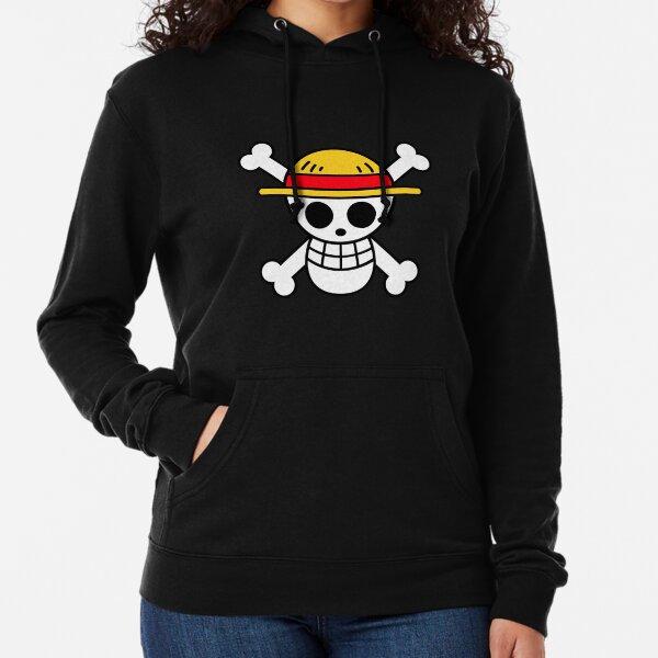 """One Piece """"Straw Hats"""" Logo Lightweight Hoodie"""