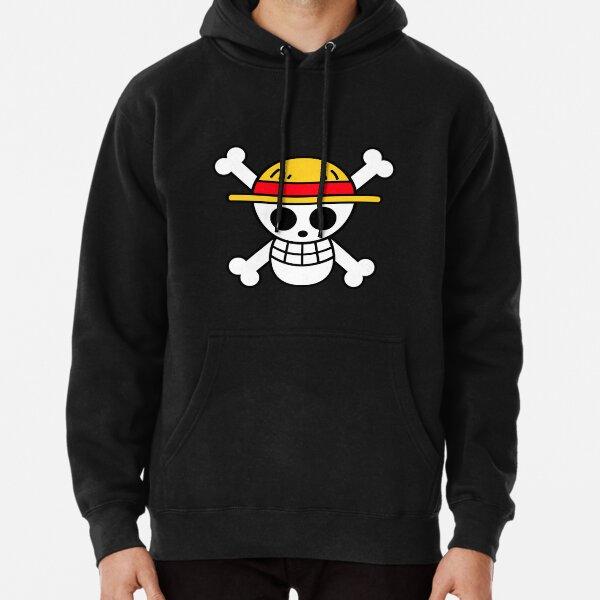 """Logo """"Chapeaux de Paille"""" One Piece Sweat à capuche épais"""