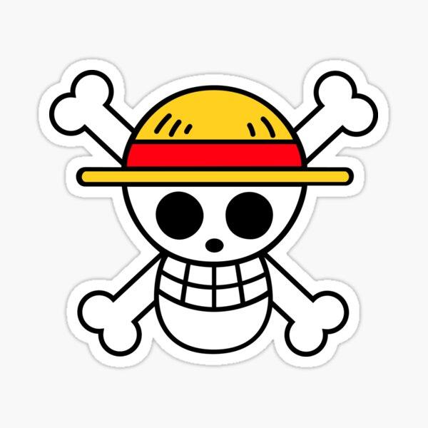 """One Piece """"Straw Hats"""" Logo Sticker"""