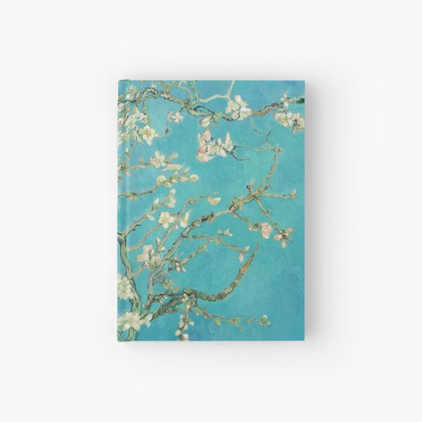 Almond Blossoms by Vincent Van Gogh  Hardcover Journal