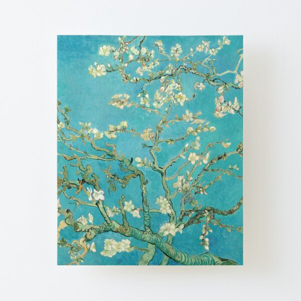 Almond Blossoms by Vincent Van Gogh  Canvas Mounted Print