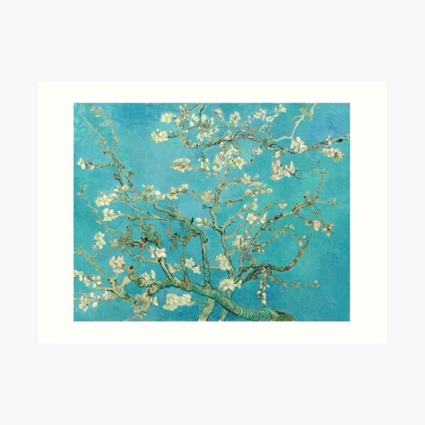 Almond Blossoms by Vincent Van Gogh  Art Print