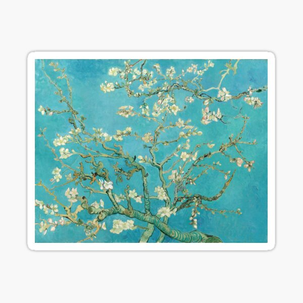 Almond Blossoms by Vincent Van Gogh  Sticker
