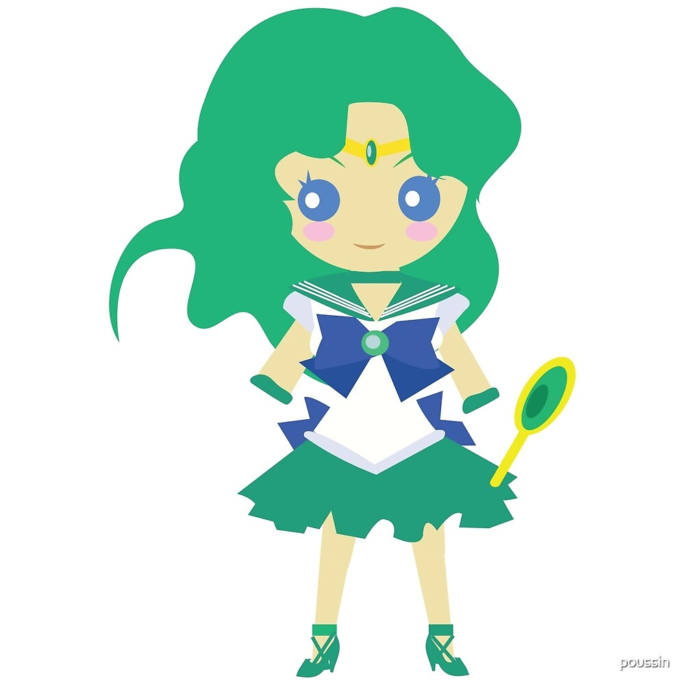 Chibi - Sailor Neptune by poussin