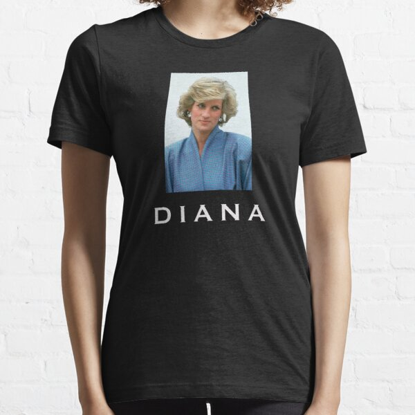 Sweatshirt Diana Spencer Shirt Princess of Wales T-Shirt Black Hoodie Women Shirt Vintage Princess Diana T-Shirt