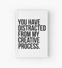 Kreativer Vorgang Notizbuch