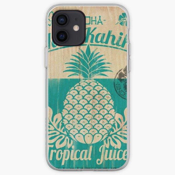 S/S 2015 - Pineapples - Hala Kahiki Juice Stand iPhone Soft Case