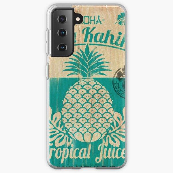 S/S 2015 - Pineapples - Hala Kahiki Juice Stand Samsung Galaxy Soft Case