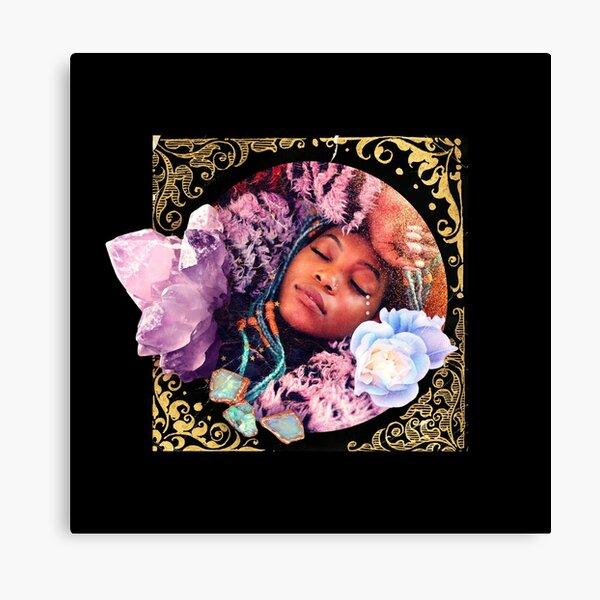 Ornaments of Gold, Part I: Lavender Quartz Canvas Print