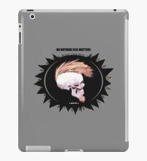 Serie 3/4. Nº 19 Metallica iPad Case/Skin