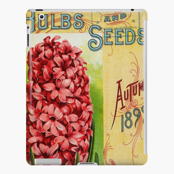 Vintage Bulbs and Seeds Catalog Cover (1899) iPad Snap Case