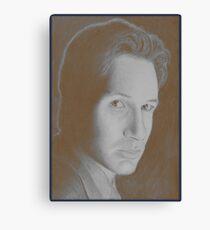 Mulder Canvas Print