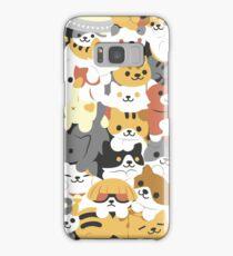 cat pile Samsung Galaxy Case/Skin