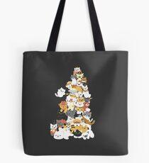 Katzenhaufen Tote Bag