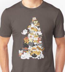 Katzenhaufen Slim Fit T-Shirt
