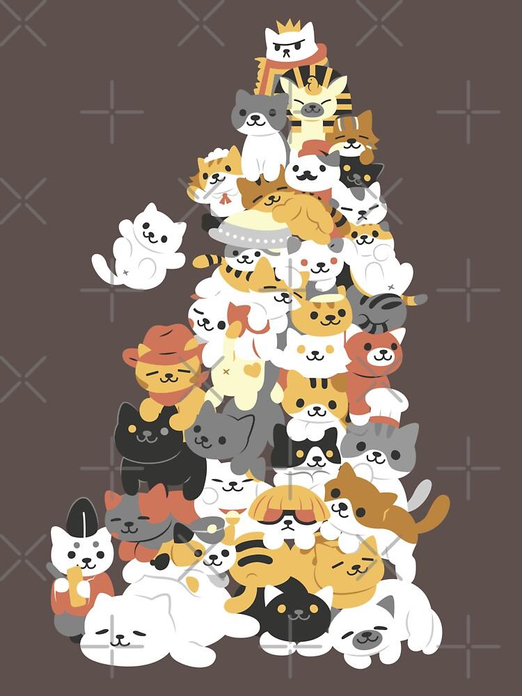 cat pile | Unisex T-Shirt