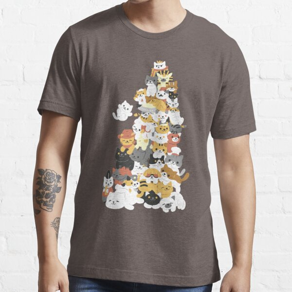 cat pile Essential T-Shirt