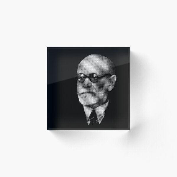 Sigmund  Freud Acrylic Block