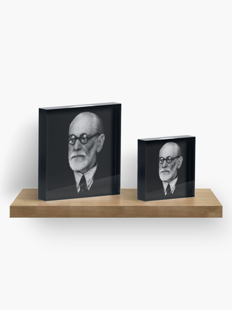 Alternate view of Sigmund  Freud Acrylic Block