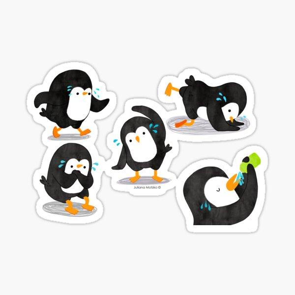 Penguin Workout - 1 Sticker