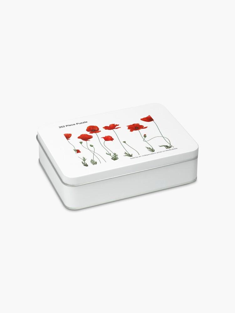 Alternate view of Poppy Stems. Jigsaw Puzzle