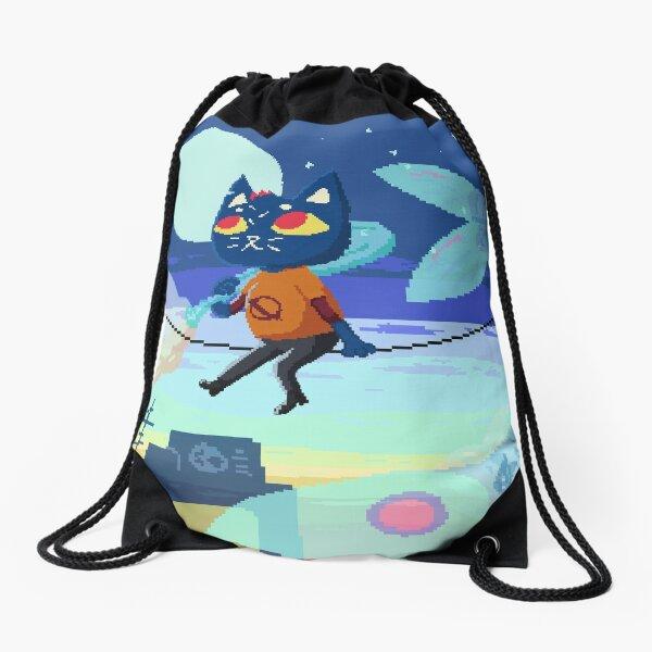 Mae Pixel Art Drawstring Bag