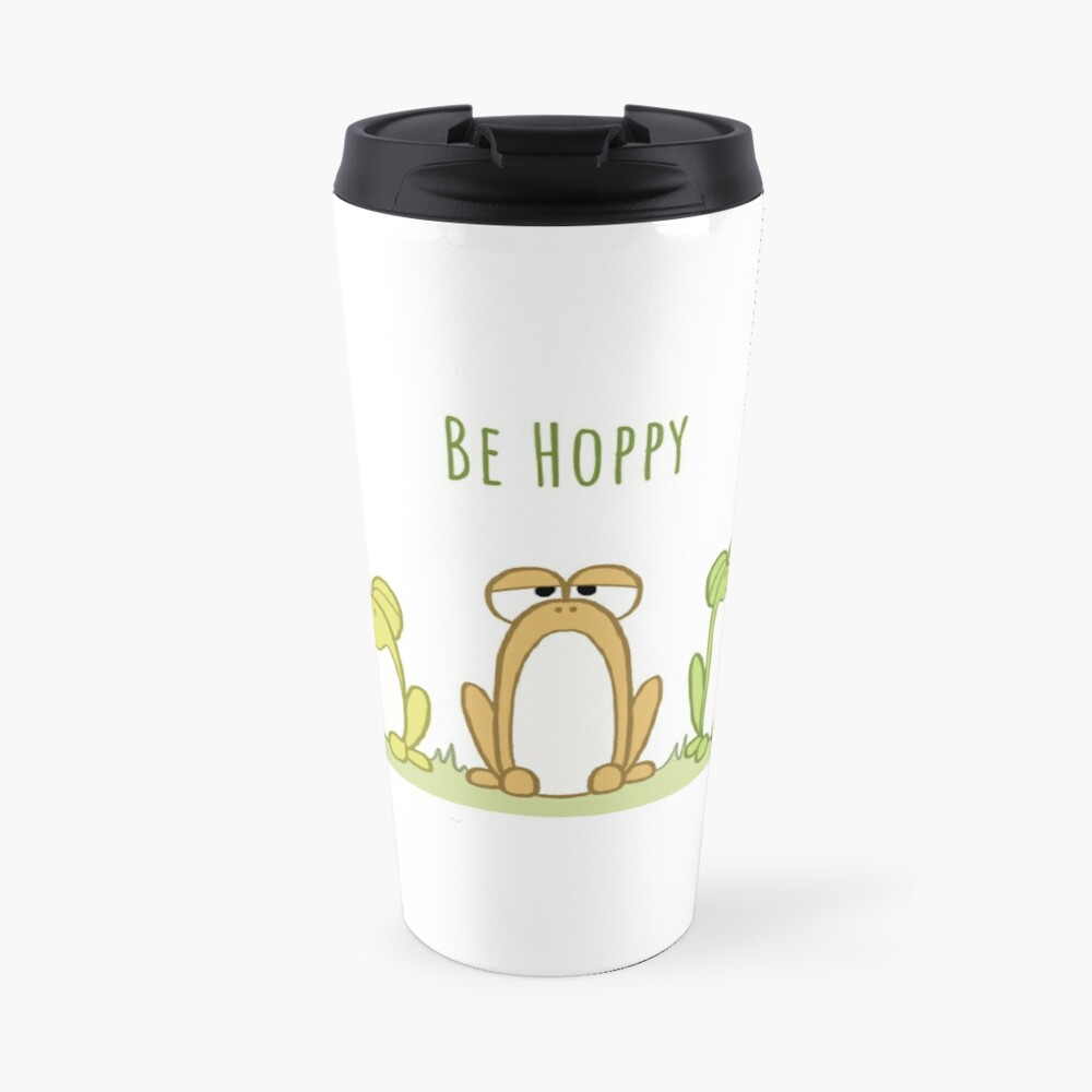 Be Hoppy Frogs Travel Mug