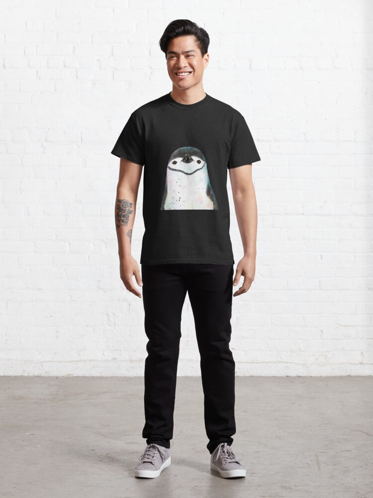 Alternate view of Chinstrap Penguin Classic T-Shirt