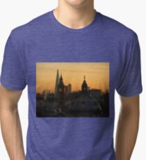 Beautiful London winter morning Tri-blend T-Shirt