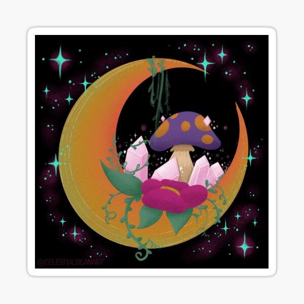 Crystal Moon Sticker