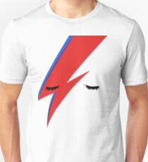 BOWIE CLOSE UP Unisex T-Shirt