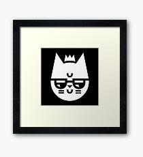 Cynical Cat Framed Print